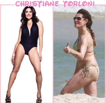 Resultado de imagem para mulheres antes e depois do photoshop